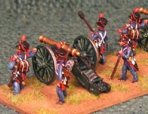 15mm, Napoleonic French Line Foot Artillery 6, 8pdr & 12pdr AB figures